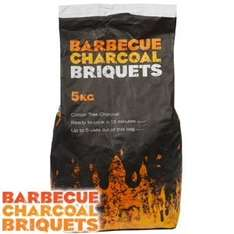 Charcoal BBQ Briquets: 5kg Bag £3.49 in Home Bargains (click and collect also )