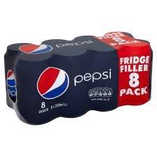 Pepsi Regular/Max/Diet 8X330ml £2.19 @ Tesco