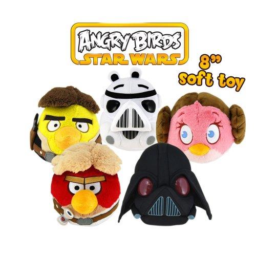 "Star Wars Angry Birds 8"" Talking Plush (60%off) @ Debenhams £8"