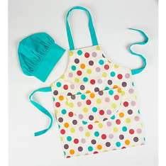 Kids apron and hat set reduced to £1.20 at Asda instore
