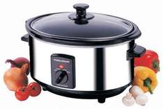 Morphy Richards 48710 Oval Slow Cooker 3.5 Litres - Stainless Steel £15.00 at Amazon