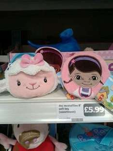 Doc Mcstuffins and lambie purse in Sainsbury's now £3.74