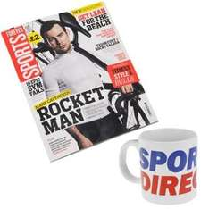 Forever Sports Value Magazine and Free Giant Mug @ Sports Direct £1 plus £3.99 delivery