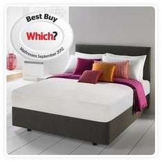 Silentnight 3 zone memory foam mattress - Which best buy - FROM £99.99 @ Amazon (Loads of sizes available: Single, Double, Euro Double, King size etc)