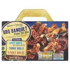 ASDA BBQ Banquet Box Rolled back from £10 to £7