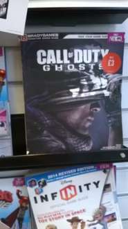 Call Of Duty Ghosts - Bradygames signature series strategy guide £3 instore @ GAME