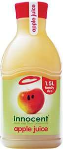 Innocent Apple Juice 1.5L 0.99p (use by 31/7/14) @ B&M In store