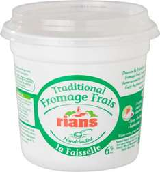 Faisselle de Rians natural Fromage Frais (500g) was £2.00 now £1.00 @ Waitrose