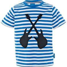 Emma Bunton Boys' Blue Striped Guitar T-Shirt - 5-6 Years. £1.99 @ Argos