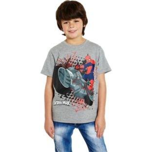 Spider-Man Boys' Grey T-Shirt - 8-11 Years. £1.99 @ Argos