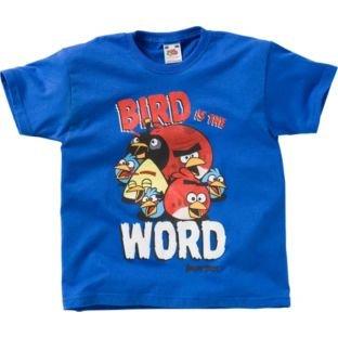 Angry Birds Boys' Blue T-Shirt - 8-11 Years. £1.49 @ Argos