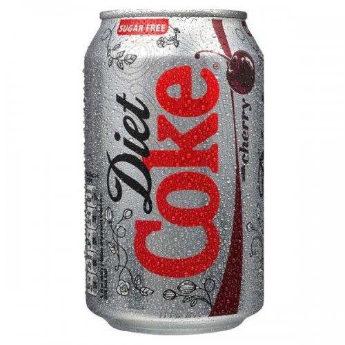 Cans of Cherry Diet Coke 25p each @ B & M