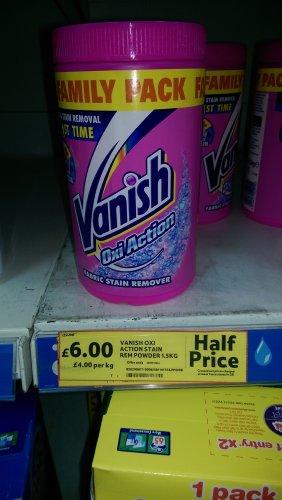 vanish oxi powder 1.5kg - £6 instore @ Tesco