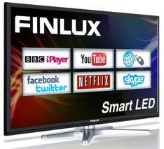 Finlux 40'' Smart LED TV With Freeview HD and PVR £224.99 Delivered @ Finlux UK Via eBay