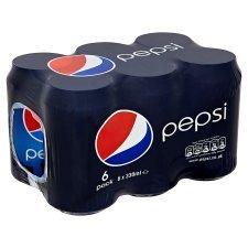 Pepsi Regular/Max 6 x 330ml £1.50 @ Iceland
