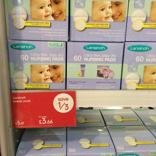 Lansinoh nursing pads £3.66 at Mothercare
