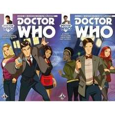 Doctor Who 10th or 11th #1 (Forbidden Planet Variant) SIGNED by authors Al Ewing & Rob Williams £3.99 @ Forbidden Planet