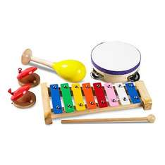 Little Tikes Wooden Musical Box Set  Was £14 Now £7 @ Asda Direct Free C&C