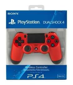 Magma Red Ps4 Dualshock controller £40.09 with code @ Tesco Direct