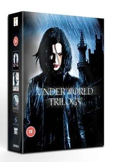 Underworld 1-3 Trilogy Box Set (new) on Blu Ray for £7.99 delivered @ Grainger Games