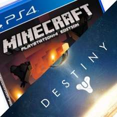 Destiny [PS4/XB1] + Minecraft [PS4] Preorder £49 with code @Tesco direct