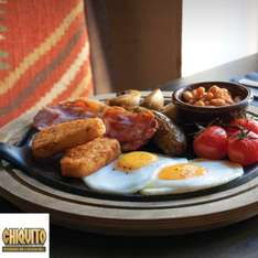 £1 breakfast @ Chiquito with Priority Moments