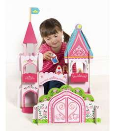Buzzing Brains Wooden Palace - Kiddicare - now down to £10 (RRP £49.99)