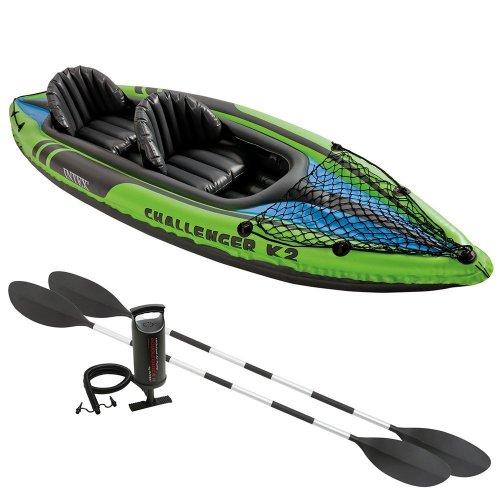 Intex challenger k2 inflatable kayak. £86.08 rrp £184 @ Amazon