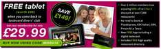 """Tastecard For 12 Months £34.98 Delivered  + Free Avoca 7"""" Dual Core Android Tablet"""