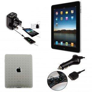 Apple iPad 1 16gb wifi Grade B Refurb + FREE Case, Mains & Car Charger £119.99 @ 7dayShop