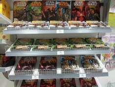 Star Wars Activity Books 39p each in Home Bargains