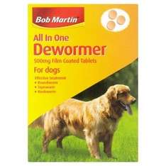 bob martin all in one dewormer for dogs £1.75 @ asda instore