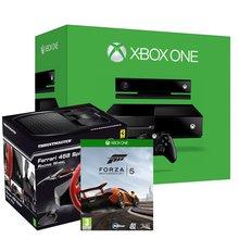 Xbox One with Kinect + Forza 5 + Ferrari 458 Steering Wheel £449.86 @ Shopto