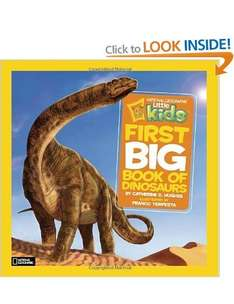 National Geographic Little Kids: First Big Book of Dinosaurs/Animals/Space £4 @ Amazon (Free delivery £10 spend / Prime / Locker)