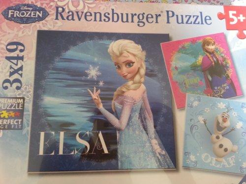 Disney Frozen puzzles (b+m) worksop £3.99