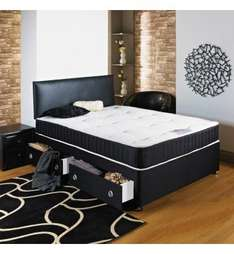 Double Bed + Mattress £132.99 (cheapbedsale)
