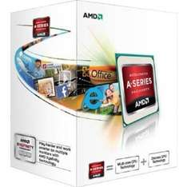 AMD A4 5300 (CPU+GPU) - 3.4GHz (3.6GHz Turbo) Socket FM2,Retail Boxed £26.36 @ amazon