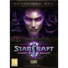 Starcraft II: Heart of the Swarm £9.99 @ The Game Collection
