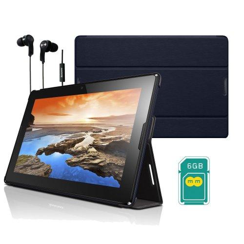 "Lenovo A10-70 Quad Core 3G Tablet 10.1"" 1.3GHZ, 1GB, 16GB, Android 4.4.2 KitKat £189.99 at Laptopsdirect Ebay Lenovo Case + Film + 6GB EE Data Sim Free & Headphones"