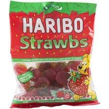 Haribo Strawbs Sweets 160G Bag Now 65p @ Wilkinsons