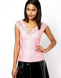 Asos River Island Lace Top £6.50 plus £3 p&p (free if you spend £15)