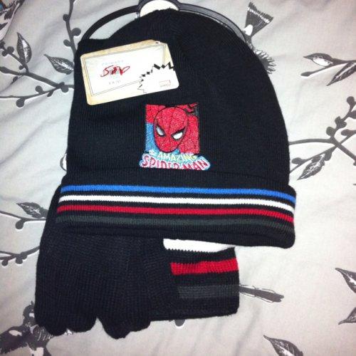 Primark Leicester - Spider-Man hat/scarf/glove set now 50p from £8