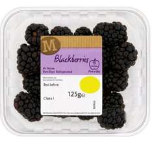 Blackberries (125g) - Now only 59p @ Morrisons...