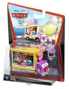Disney Pixar Cars 2 Oversize Deluxe Vehicle - Taia Decotura Japan TV Screen Truck £7.95 - Sold by Star Action Figures and Fulfilled by Amazon