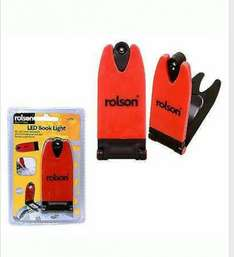 Rolson LED Clip on Reading Light 99p Delivered!  Sold by chancerychaircovers on eBay