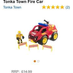 Tonka town fire car £5.03 at Amazon  (free delivery £10 spend/prime)
