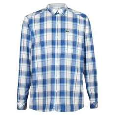 Lacoste Checked Shirt £22.50 plus £3.99 delivery (£1.99 if you spend £50) @ USC