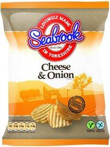 Seabrook straight cut + Seabrook crinkle cut crisps 2 for £2.00 @ morrisons 0.70 after cashback via clicksnap