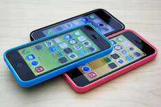 £50 Amazon Voucher, iPhone 5C 16gb, unlmtd Mins, texts and 2 GB data, £23.99 a month @ EE