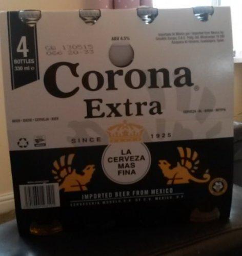 4 X 330ml Corona Extra £4.05 @ Waitrose £3.15 after Shopitize cashback